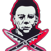 ROCK REBEL MICHAEL MYERS ENAMEL PIN