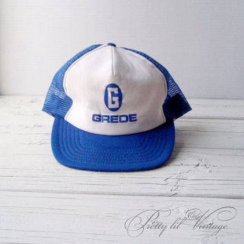Vintage Grede trucker hat by prettylilpieces on Etsy