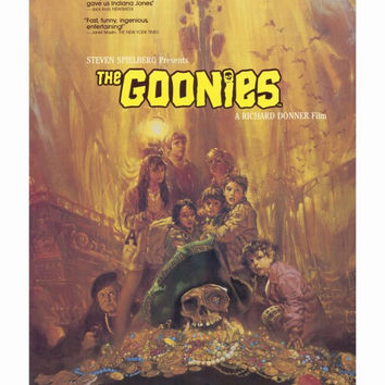 The Goonies 27x40 Movie Poster (1985)