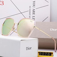 Dior Women Fashion Summer Sun Shades Eyeglasses Glasses Sunglasses
