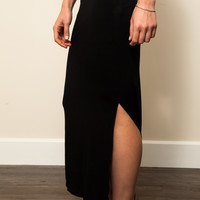 Betsy Long Jersey Skirt