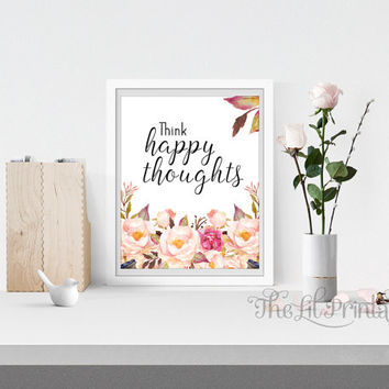 Create Something Amazing Printable, Wall Print, Positive Quote, Floral Print, Flower Quote Print,Spring Printable, Spring Flower Print