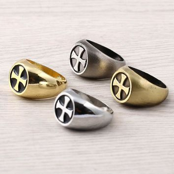 4 Colors Vintage Assassins Creed Master Rings For Women Halloween Men Jewelry Anel 245
