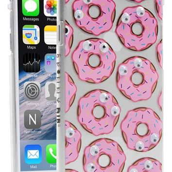 Skinnydip 'Donut' Googly Eyes iPhone 6 Case