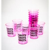 Bachelorette Plastic 2 oz. Shot Glasses 12-Pack