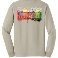 'Live Colorfully' Comfort Colors Long Sleeve