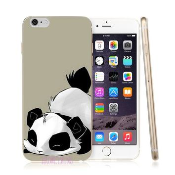Haoweiming Bad Panda Mask Silicone Soft TPU Case Cover For Samsung Galaxy J2 J3 J4 J5 J6 J7 2015 2016 2017 EU H029