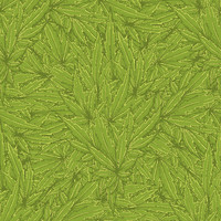 Cannabis Leaf Removable Wallpaper Decal