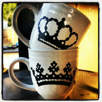 King and Queen  His and Hers CoFfEe MuGs