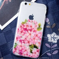 Beautiful Cherry Blossoms iPhone 6 6s Plus creative case Samsung Gift