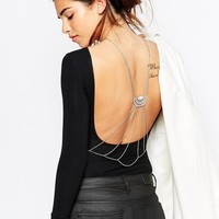 ASOS Jewelled Back Body Chain