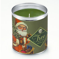 Father Christmas Tree Candle