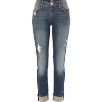 River Island Womens Mid wash Daisy slim jeans