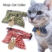 Cat1st Ninja Lucky Cat Collar