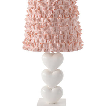 Felicity Heart Lamp & Shade