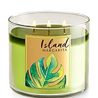 Bath & Body Works 3 Wick Candle 14.5 Ounce, Island Margarita