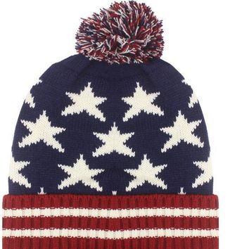 Patriotic Knitted Winter Hat - CASE OF 72