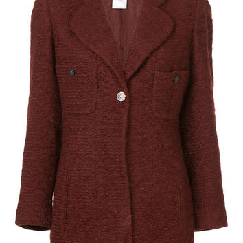 Chanel Vintage Fitted Blazer - Farfetch
