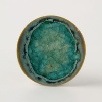 Prismatic Spring Pull by Anthropologie in Turquoise Size: One Size Knobs