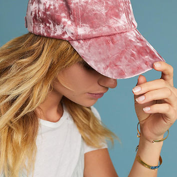 Crushed Velvet Baseball Cap