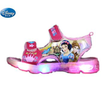 Snow White Princess Sandals | Kids Light Up Shoes | LED Junior's