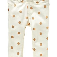 Printed Pull-On Denim Jeggings for Baby