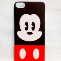 mickey Mouse Cartoon cute lovely hard Cover Case skin For Mobile phone Cell phone (Iphone 5 5G 5S)