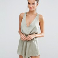 Y.A.S Donna Beach Romper at asos.com