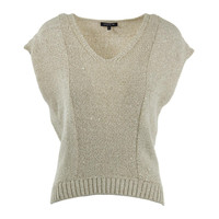 Lafayette 148 New York Womens Petites Knit Hi-Low Sweater Vest
