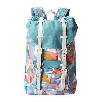 Herschel Supply Co. Little America Mid-Volume Quilt/Seafoam/Natural Rubber - Zappos.com Free Shipping BOTH Ways