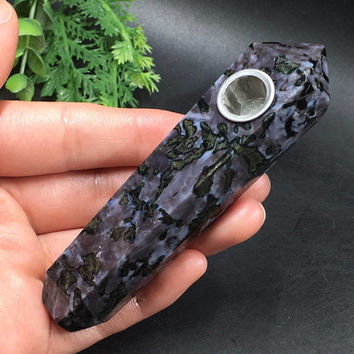 Pipe soapstone gabbro, healing Crystal, gemstones, precious stone pipe, Smoking Pipe, pipe smoking, pipe tobacco