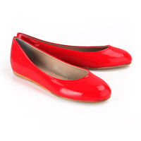 Just Ballerinas Glass Shoes in Coral