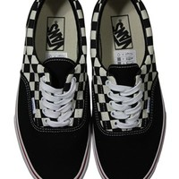 Vans Era Van Doren Black Checker Trainers - Buy Online at Grindstore.com