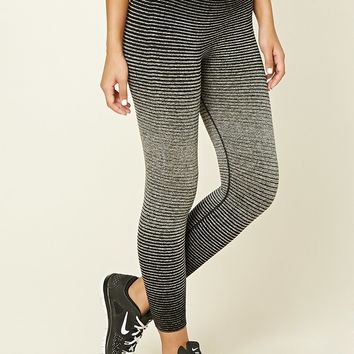 Active Stripe Capri Leggings