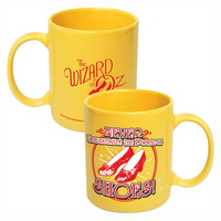 Wizard of Oz - Never Underestimate the Power of Shoes 11 oz. Ceramic Mug
