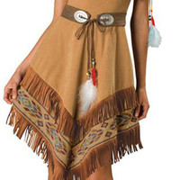 indian maiden adult costume | (large)