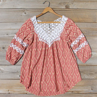Sugared Breeze Blouse in Desert Ikat
