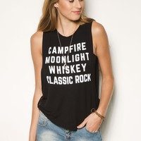 Girls 'Campfire Moonlight' Graphic Tank