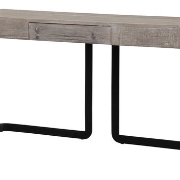 """Cypress Modern Reclaimed Wood Console Table 56"""" x 16"""""""