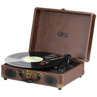 Qfx Portable Suitcase Record Player