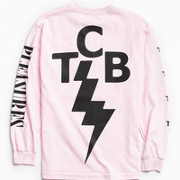 PLEASURES Lightning Bolt Long Sleeve Tee | Urban Outfitters