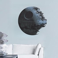 Minecraft movies Star Wars Death Star vinyl art Wall Stickers Kids Room Decal Home Decor 3D removable Sticker fans Decoration