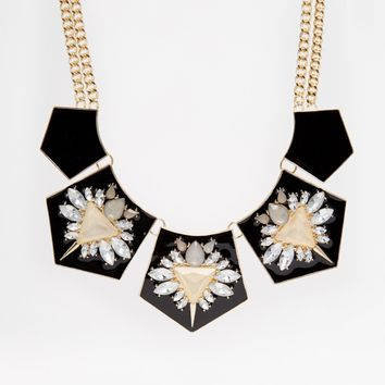 Warehouse Embellished Necklace