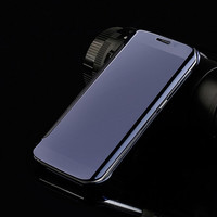 S7 Edge mirror caseS Luxury Clear View Mirror Flip Electroplating Phone Cases For Samsung Galaxy S7 S7 Edge Hard Cover