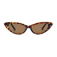 The Debutante Sunglasses Leopard