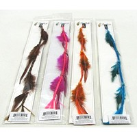 Medium Feather Hair Extension Assorted