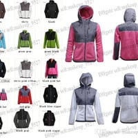 2015 New The Women Fleece Apex Bionic SoftShell Jacket Winter Coats Outdoor Sports Clothing Coats S-XXL Black Can Mix Lowest Price