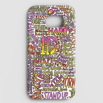 One Direction Harry Styles Tattoos Samsung Galaxy Note 8 Case
