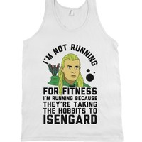White Tank | Funny Lord Of The Rings Workout Shirts