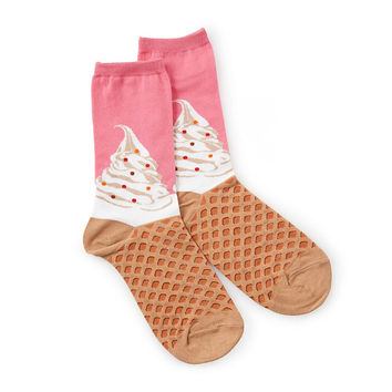 Women's Soft Serve Socks | novelty socks